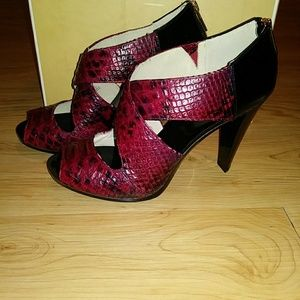 Michael Kors Shoes - MK snake skin sandals
